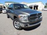 2007 Mineral Gray Metallic Dodge Ram 1500 SLT Quad Cab 4x4 #86676367