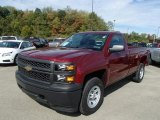 2014 Deep Ruby Metallic Chevrolet Silverado 1500 WT Regular Cab 4x4 #86676177