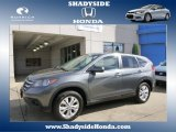 2012 Polished Metal Metallic Honda CR-V EX 4WD #86676071