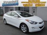 2013 Shimmering White Hyundai Elantra GLS #86675904