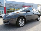 2013 Metallic Slate Nissan LEAF S #86676361