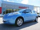 2013 Blue Ocean Nissan LEAF SV #86676359