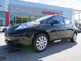 2013 Super Black Nissan LEAF S #86676354