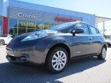 2013 Metallic Slate Nissan LEAF S #86676353