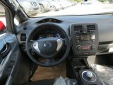2013 Nissan LEAF S Dashboard