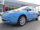 2013 Blue Ocean Nissan LEAF S #86676351