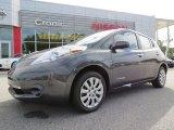 2013 Metallic Slate Nissan LEAF S #86676347