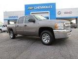 2013 Graystone Metallic Chevrolet Silverado 1500 LT Crew Cab #86676345