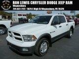 2010 Stone White Dodge Ram 1500 TRX4 Crew Cab 4x4 #86676266