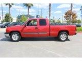Victory Red Chevrolet Silverado 1500 in 2004