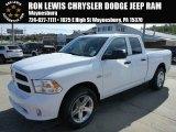 2014 Bright White Ram 1500 Express Quad Cab 4x4 #86676261