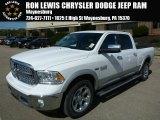 2014 Bright White Ram 1500 Laramie Crew Cab 4x4 #86676259