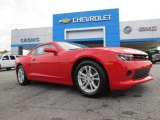 2014 Red Hot Chevrolet Camaro LS Coupe #86676334