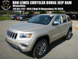 2014 Cashmere Pearl Jeep Grand Cherokee Limited 4x4 #86676250