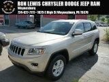 2014 Cashmere Pearl Jeep Grand Cherokee Laredo 4x4 #86676244