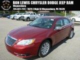 2014 Deep Cherry Red Crystal Pearl Chrysler 200 Limited Sedan #86676236