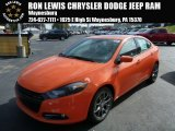 2013 Header Orange Dodge Dart SXT #86676235
