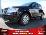 2014 Pitch Black Dodge Journey Amercian Value Package #86725024