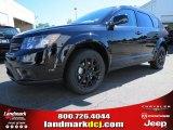 2014 Pitch Black Dodge Journey SXT #86725023