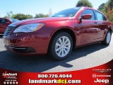 2014 Deep Cherry Red Crystal Pearl Chrysler 200 Touring Sedan #86725010