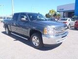 2013 Graystone Metallic Chevrolet Silverado 1500 LT Crew Cab #86725444