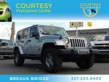 2013 Billet Silver Metallic Jeep Wrangler Unlimited Oscar Mike Freedom Edition 4x4 #86725340