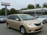 2011 Sandy Beach Metallic Toyota Sienna LE #86725112