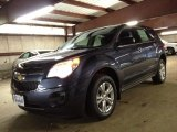 2014 Atlantis Blue Metallic Chevrolet Equinox LS #86724998