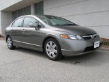 2006 Galaxy Gray Metallic Honda Civic LX Sedan #8660831