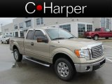 2011 Pale Adobe Metallic Ford F150 XLT SuperCab 4x4 #86724689