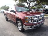 2014 Deep Ruby Metallic Chevrolet Silverado 1500 LT Double Cab #86725434