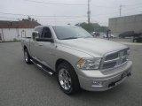 2010 Light Graystone Pearl Dodge Ram 1500 Laramie Crew Cab 4x4 #86725413