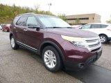 2011 Bordeaux Reserve Red Metallic Ford Explorer XLT 4WD #86724963