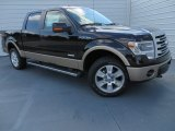 2013 Kodiak Brown Metallic Ford F150 Lariat SuperCrew 4x4 #86725091
