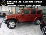 2014 Copperhead Pearl Jeep Wrangler Unlimited Sahara 4x4 #86724952