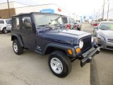 2006 Midnight Blue Pearl Jeep Wrangler SE 4x4 #86725383