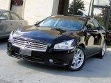 2011 Crimson Black Nissan Maxima 3.5 SV Premium #86725080