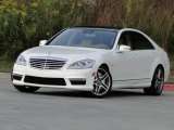 2013 Diamond White Metallic Mercedes-Benz S 63 AMG Sedan #86725076