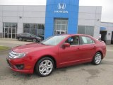 2010 Red Candy Metallic Ford Fusion SE #86725270