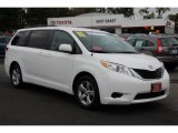 2011 Super White Toyota Sienna LE #86725064