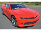 2014 Red Hot Chevrolet Camaro LT Coupe #86725262
