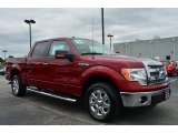 2013 Ruby Red Metallic Ford F150 XLT SuperCrew #86725055