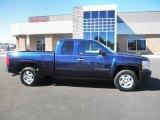 2008 Dark Blue Metallic Chevrolet Silverado 1500 LT Extended Cab #86725356