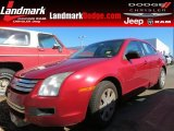 2008 Redfire Metallic Ford Fusion S #86725033