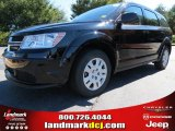 2014 Pitch Black Dodge Journey Amercian Value Package #86725025