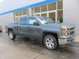 2014 Blue Granite Metallic Chevrolet Silverado 1500 LT Crew Cab 4x4 #86779810