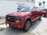 2013 Ruby Red Metallic Ford F150 FX4 SuperCrew 4x4 #86779917