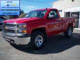 2014 Victory Red Chevrolet Silverado 1500 WT Regular Cab 4x4 #86779916