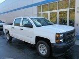 2014 Summit White Chevrolet Silverado 1500 WT Crew Cab 4x4 #86779856