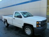 2014 Summit White Chevrolet Silverado 1500 WT Regular Cab 4x4 #86779792